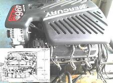 Mercury MerCruiser 496 Gasoline Engine Service Manual Inboard Motor Boat PDF CD