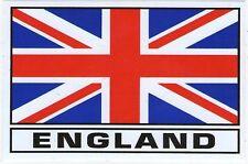 AUTOCOLLANT STICKER DRAPEAU ANGLETERRE UNION JACK UK ENGLAND DIM. 12,8 X 8,5 CM
