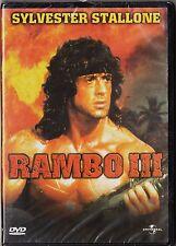 RAMBO III con Sylvester Stallone. UNIVERSAL, 2001