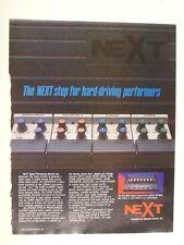retro magazine advert 1983 NEXT signal processing