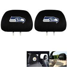 New Team ProMark NFL Seattle Seahawks Head Rest Covers For Car Truck Suv Van