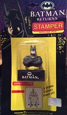 Rare Vintage Batman Returns Stamper with Ink Pad 1991 Unopened Package