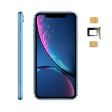 Apple iPhone XR 256GB Blue Unlocked A2108 Dual Physical Nano SIM