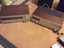 HIFI vintage Philips type 594 integrated amplifier Philips type 694 AM FM Stereo