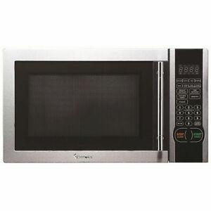 Microwave Oven with Stylish Door Handle 1.1-Cu. Ft. 1000W Power Countertop New