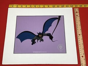 Rare 1990's BATMAN Promo SERICEL CEL WB WARNER BROS Seal 1996 DC COMICS NOS New