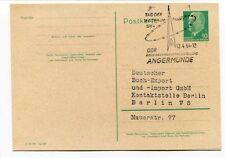1964 Tag Der Weltraum Fahrt Angermuned DDR Deutsche Demokratische Republik SPACE