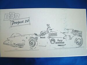 BBR - FERRARI F310B - PROJECT 20 - PR07 - 1:20th SCALE RESIN AND METAL KIT