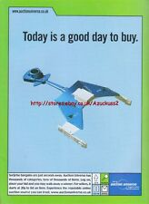"Auction Universe ""Today Is A Good Day To Buy"" 1999 Magazine Advert #4499"