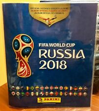 Panini world cup 2018 album plastic Vinyl Cover Protector. 25 count