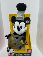 Disney Steamboat Willie Dancing Mickey Mouse-Special...
