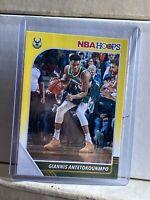 2019-20 Panini NBA Hoops Yellow Giannis Antetokounmpo #102