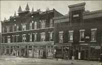 Cobleskill NY Post Office Block c1910 Postcard