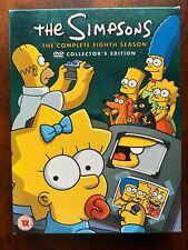 Simpsons Season 8 DVD Box Set Complete Eighth Family Animated TV Series