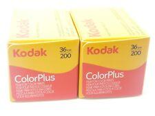 2 x KODAK COLORPLUS 200 35mm 36Exp CHEAP COLOUR PRINT FILM -1st CLASS ROYAL MAIL