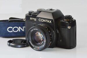 [Near Mint] CONTAX RTS 35mm SLR Carl Zeiss Planar 50mm F1.7 from Japan N509