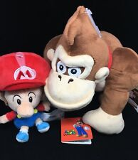 Sanei Little Buddy Super Mario Baby Mario All Star Collection Donkey Kong Plush