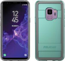 Pelican Protector Case for Samsung Galaxy S9 (Aqua/Grey)