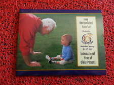 1999 RAM UNCIRCULATED 6 COIN MINT SET (International Year Of The Older Persons)