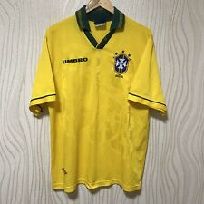 BRASIL 1994 HOME FOOTBALL SHIRT SOCCER JERSEY CAMISETA UMBRO