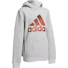 BOYS ADIDAS GREY HOODY / HOODIE SWEATSHIRT  5-6 Years New £12.99