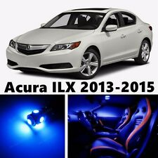 9pcs LED Blue Light Interior Package Kit for Acura ILX 2013-2015
