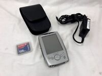 Dell Axim X5 PDA Pocket PC With 128mb SD Compact Flash & Case Microsoft Windows