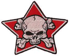 Parche Escudo Estrella Rojo Soviet 85mm Parche Manualidades Insignia Star