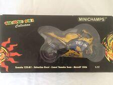 Minichamps Valentino Rossi 1.12 Scale Yamaha YZR M1 Camel Yamaha Team MOTOGP 06