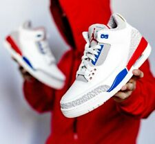 NIKE AIR JORDAN 3 RETRO (GS) ,CHARITY GAME' YOUTH SIZE 4.5 EUR 37.5 (398614 140)
