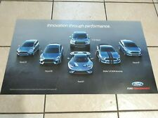 New Ford SHELBY Mustang Focus ST RS GT RAPTOR GT350 RACING POSTER PICTURE