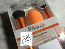 Real Techniques Ultimate Base Set 2 Brushes Sponge & Stand