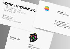 STEVE JOBS - 3 gorgeous Reprint ID Cards from the Apple-Founder - Apple, NeXT
