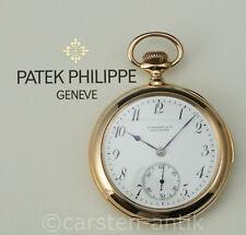 Patek Philippe & Co. für Tiffany & Co 5 Min Repetition 18k Gold Taschenuhr 1898