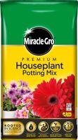 Miracle-Gro Premium Houseplant Potting Plant Feeding Growth Compost 10L