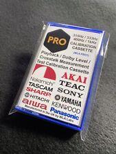 Playback Dolby Level Crosstalk Test Calibration Cassette 315Hz 333Hz 400Hz 1kHz