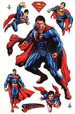SUPERMAN SPECTACULAIRE PLANCHE AUTOCOLLANTS (DIFFUSES EN THAILANDE)