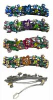 Bella Flower Hair Barrette Hair Clip with French Clip Clasp YY86900-2