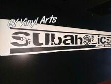 Subaru Subaholics Windshield Cars Stickers Banners STI WRX Impreza