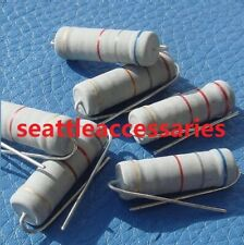 5W 5watt Metal Oxide Film Resistor 33 Value Assorted 30 ohm ~ 910 ohm Kit 165pcs