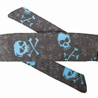 HK ARMY HEADBAND - VINTAGE THROWBACK - BONES - BLUE