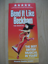 **Bend it like Beckham Flyer at Phoenix Theatre London opens up as 4**