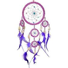 Bling! Colorful Pink and Purple Beaded Dreamcatcher from Bali!