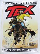 """TEX albo speciale n° 15 - """"Il cavaliere solitario"""" - TEXONE"""