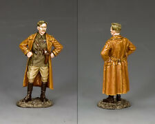 King and Country ww1 SQUADRONE COMANDANTE IL SIGNORE flasheart da Blackadder fw227