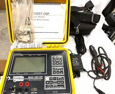 RiserBond 1205T-OSP Metallic TDR Cable Fault Locator POWER ON.W/ACCESSORY