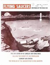FLYING SAUCERS June 1968 - magazine edited by Ray Palmer