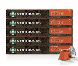 Starbucks by Nespresso Single-Origin Colombia 50-count single serve capsules ...
