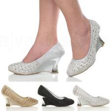Court Textile Med (1 3/4 to 2 3/4 in) Heel Height Heels for Women