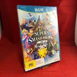 Super Smash Bros 2014 - Nintendo Wii U WiiU Game BRAND NEW SEALED